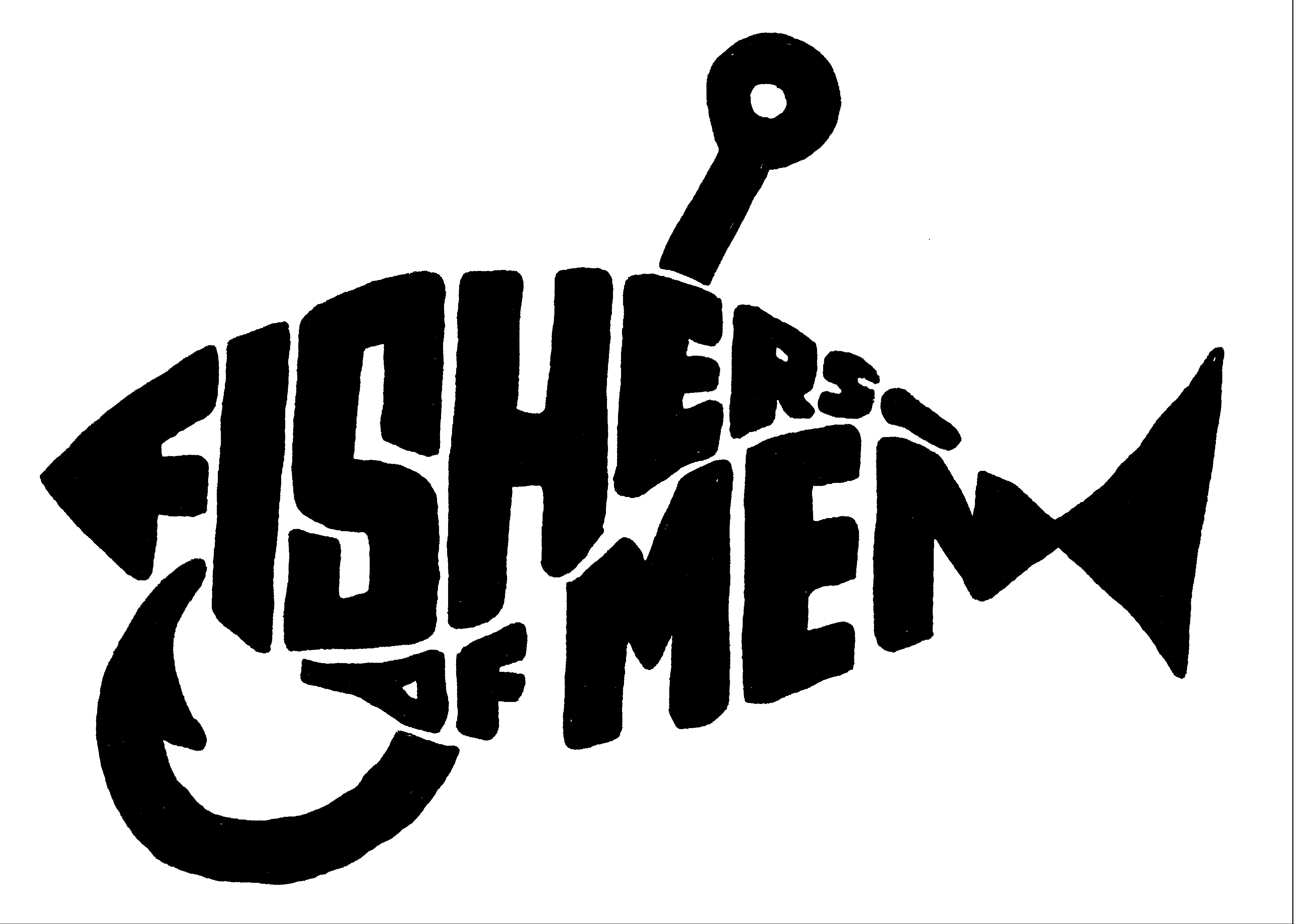 Creation religous black and white clipart clip art transparent library Free christian fishers of men clipart | scan | Mens ministry, Church ... clip art transparent library