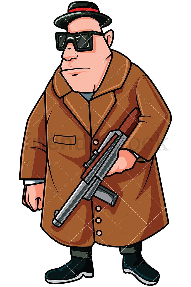 Free mafia clipart. Download cartoon gangster clip
