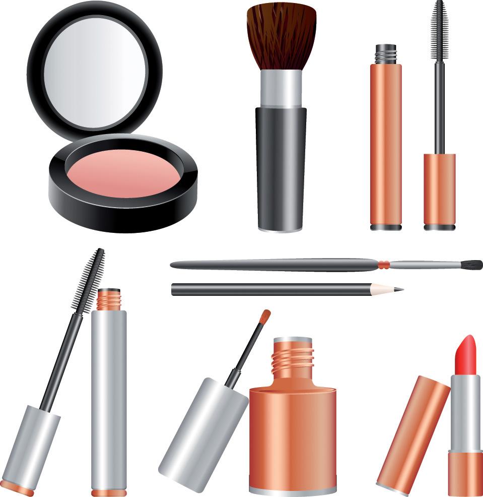 Free makeup clipart