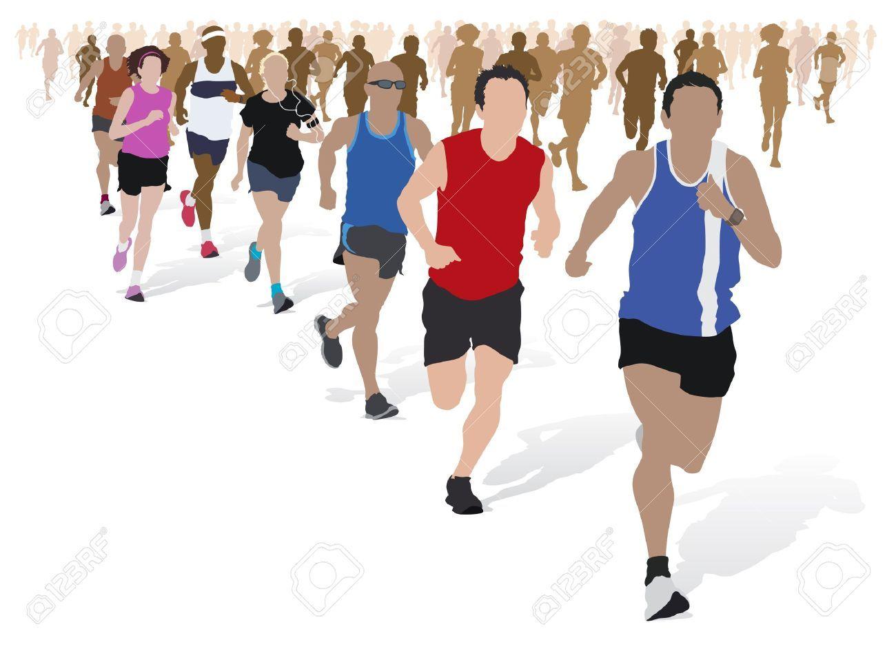 Marathon running clipart image library stock Free marathon clipart 8 » Clipart Portal image library stock