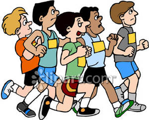 Free marathon clipart picture stock People Running Marathon Clipart | Clipart Panda - Free Clipart Images picture stock