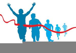 Free marathon clipart picture black and white download Free Marathon Runner Clipart | Free Images at Clker.com - vector ... picture black and white download