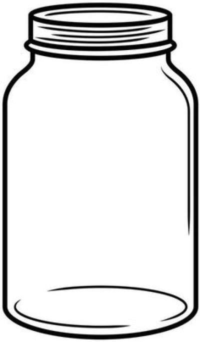 Free mason jar clipart clip art black and white download Free Mason Jar Clipart PNG - DLPNG.com clip art black and white download