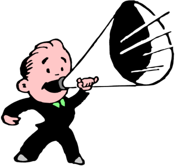 Man with megaphone free clipart jpg freeuse download Megaphone clipart free clipart images clipartix - Cliparting.com jpg freeuse download