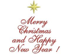 Christmas and a happy new year clipart banner black and white stock 270 Best Merry Christmas and Happy New Year images in 2016 | Happy ... banner black and white stock