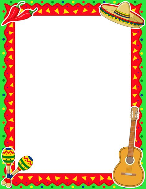 Mexico clipart borders vector freeuse stock Free Mexican Border Cliparts, Download Free Clip Art, Free Clip Art ... vector freeuse stock