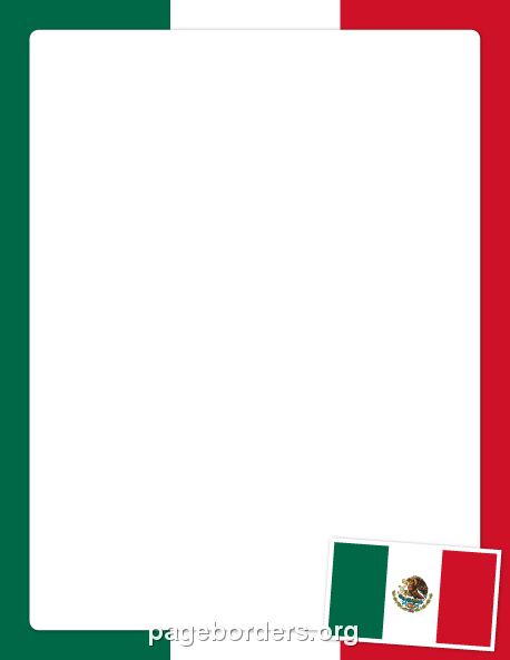 Free mexican border clipart to use in word. Flag clip art page