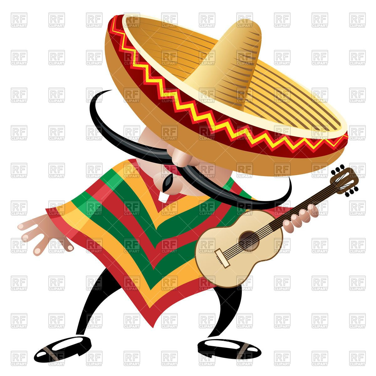 Spanish clipart flag and sombrero png black and white download Mexican Sombrero Clip Art Worm | Mexican Sombrero Clip Art Free ... png black and white download