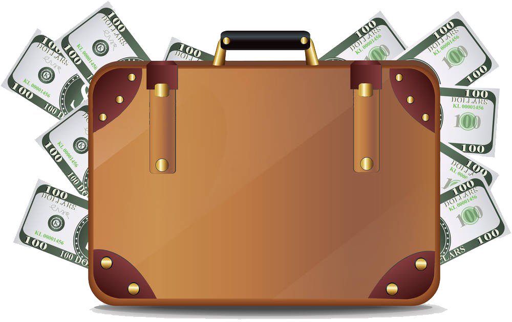 Free money bill clipart banner free library Money Suitcase Clip art - Bill in the suitcase 1000*630 transprent ... banner free library
