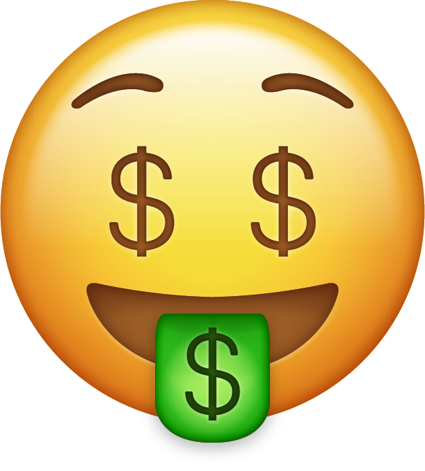 Free money emoji clipart download Download New Emoji Icons in PNG [iOS 10] | Emoji Island download
