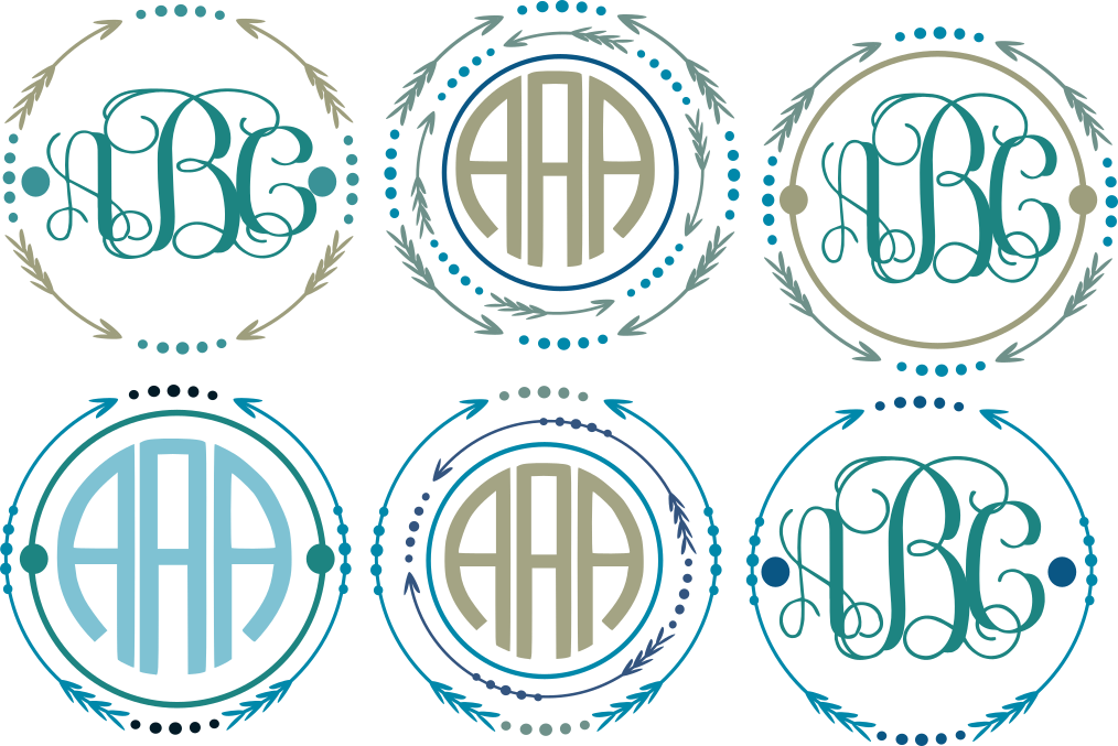 Frames images gallery for. Free monogram clipart