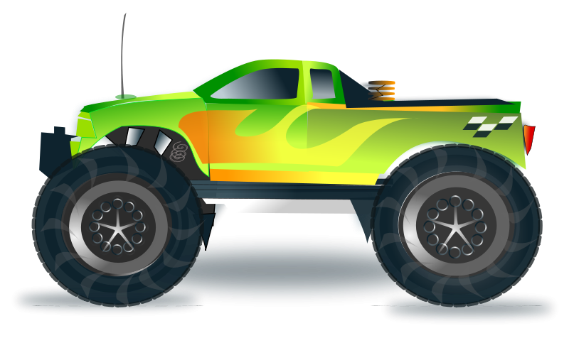 Free monster truck clipart images vector royalty free library Free Clipart: Monster truck | netalloy vector royalty free library