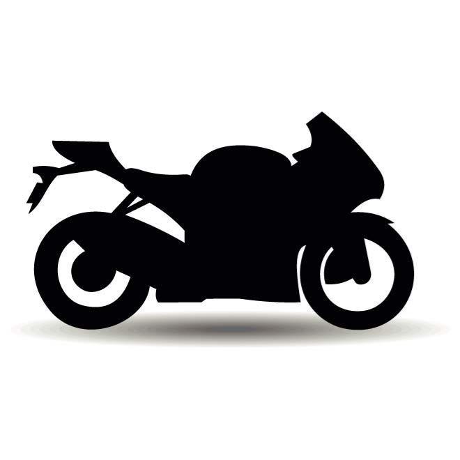 MOTORCYCLE SILHOUETTE VECTOR - Free vector image in AI and EPS format. clipart library library