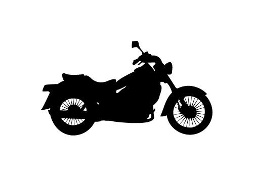 Free motorcycle silhouette clipart clip library download Free Motorbike Silhouette Vector - SV Stock Blog | Silhouette Clip ... clip library download
