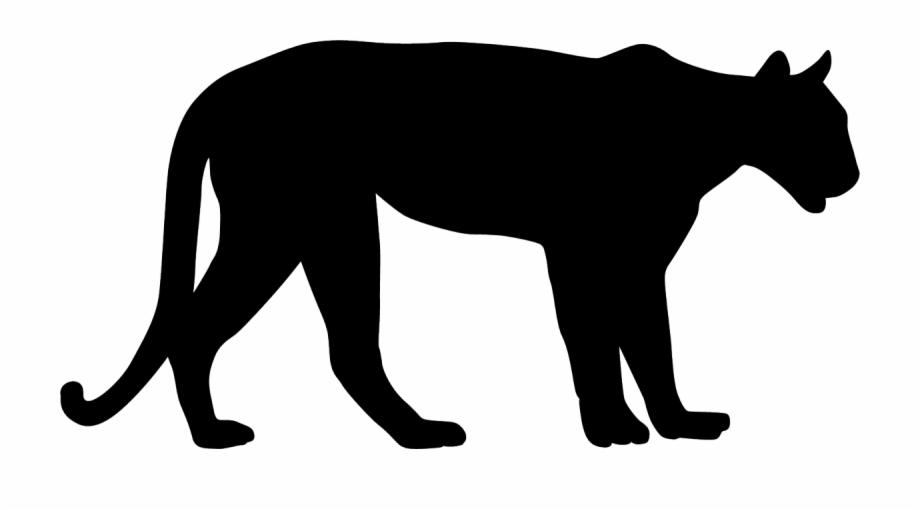 Free mountain lion clipart graphic transparent library Mountain Lion Black Silhouette - Mountain Lion Silhouette Free PNG ... graphic transparent library