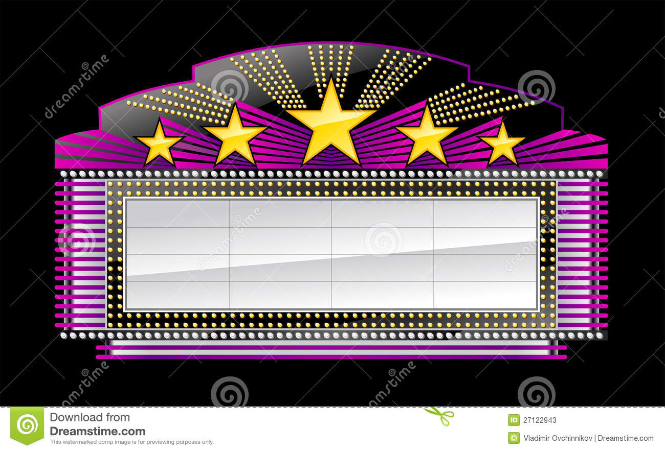 Free movie marquee clipart black and white. Cliparts download clip art
