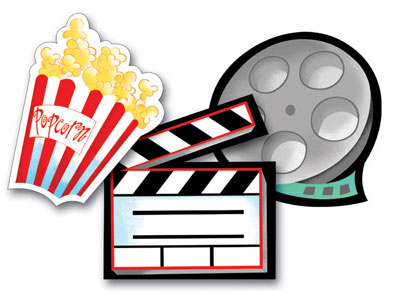 Free movie night clipart clipart black and white library Movie night clipart free images 2 - ClipartPost clipart black and white library