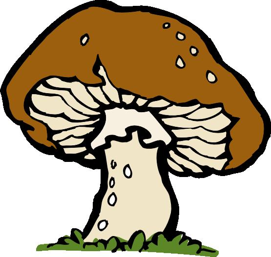 Free mushroom clipart svg freeuse stock Free Mushroom Clip Art | Clipart Panda - Free Clipart Images svg freeuse stock