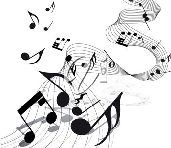 Free musicians cliparts. Musical note clip art