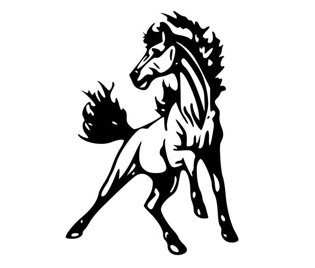 Free mustang horse clipart images royalty free download Free Mustang Horse Silhouette, Download Free Clip Art, Free Clip Art ... royalty free download