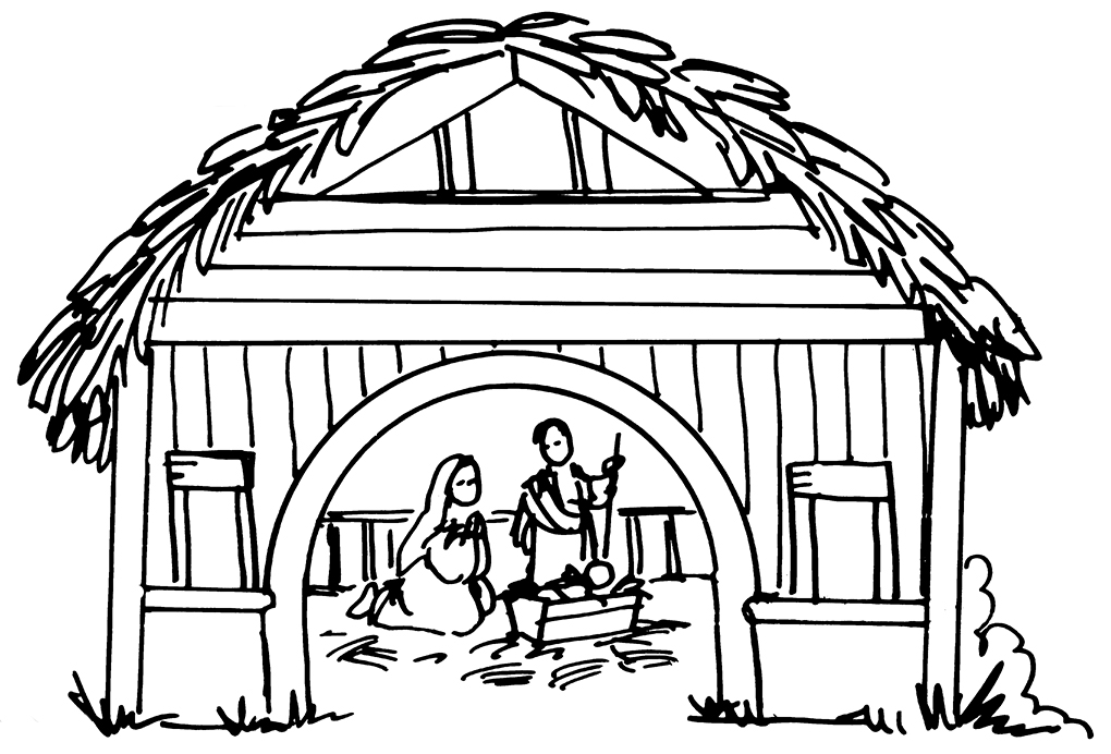 Free nativity clipart black and white image download Free Nativity Black Cliparts, Download Free Clip Art, Free Clip Art ... image download
