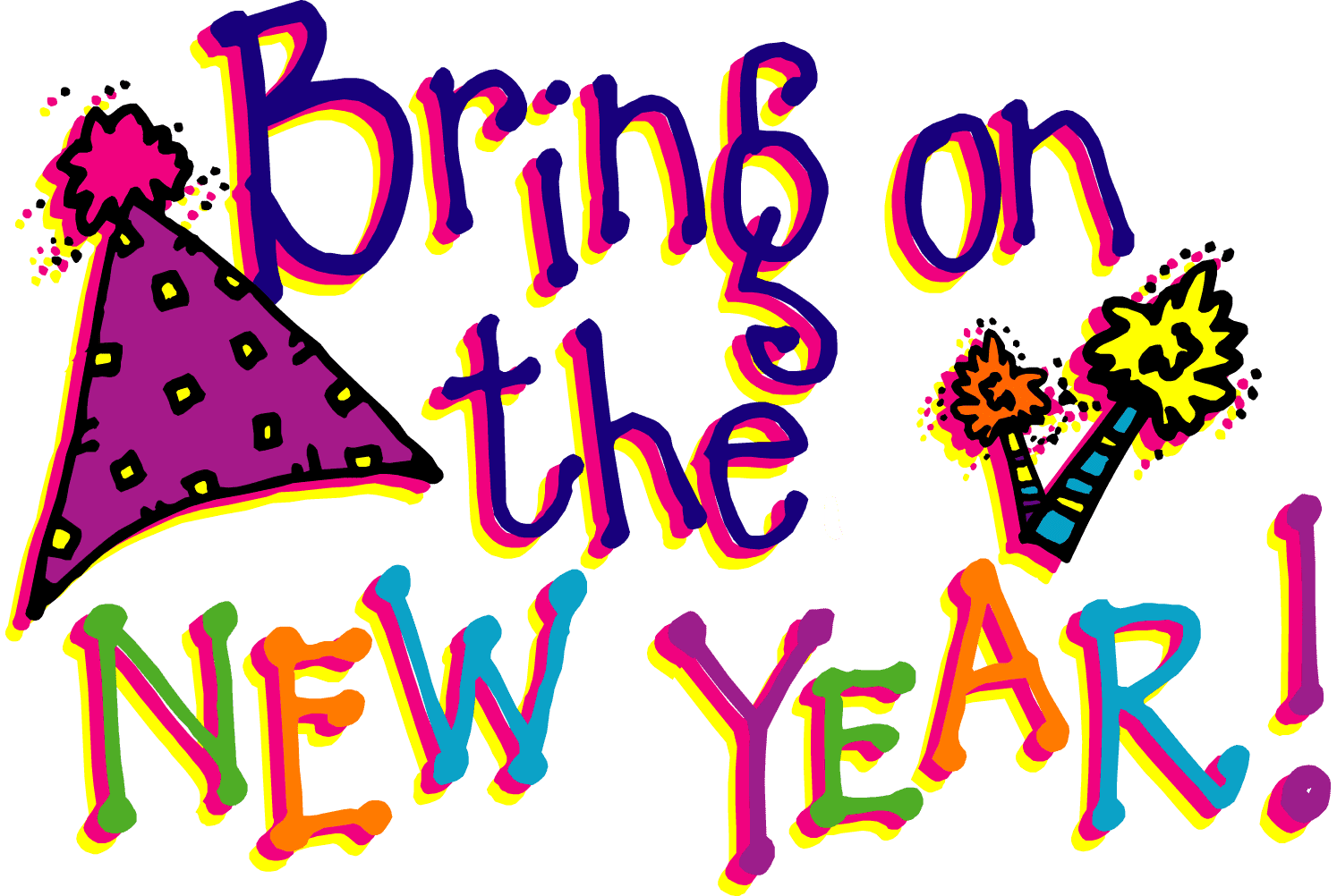 Best clipartion com . Free new year s day 2018 clipart