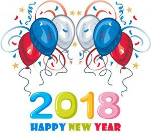 Happy new year 2018 free clipart jpg black and white stock Happy New Year 2018 clipart images free clip art download #clipart ... jpg black and white stock