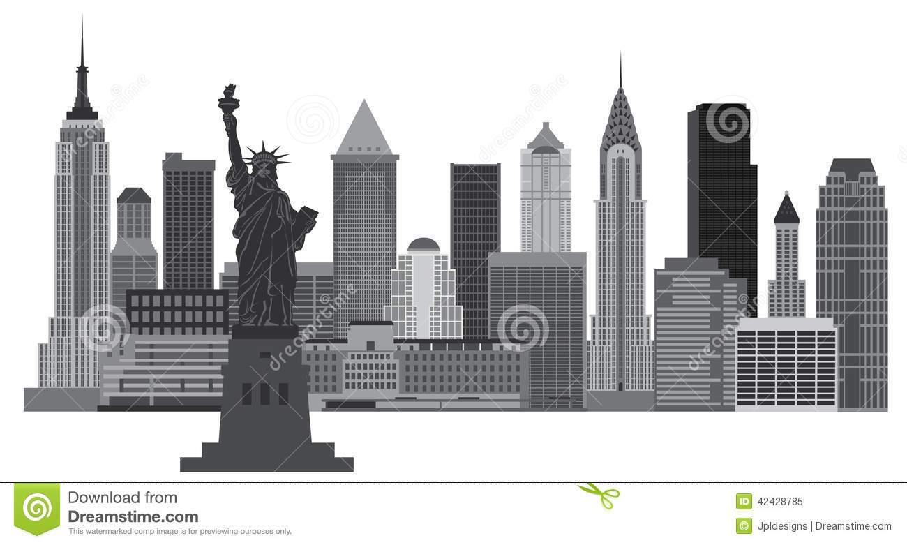 Free new york city clipart picture black and white library New york city clipart free 1 » Clipart Portal picture black and white library