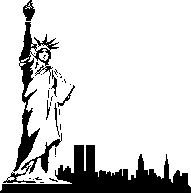 Free new york city clipart picture black and white library New York Clip Art Free | Clipart Panda - Free Clipart Images picture black and white library