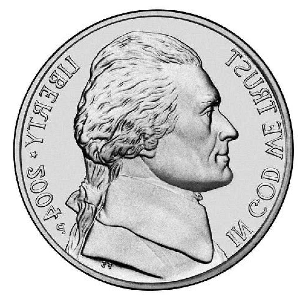 Best clip art vector. Free nickel clipart