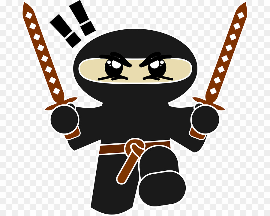 Free ninja clipart jpg black and white Ninja Cartoon PNG Clipart download - 755 * 720 - Free Transparent ... jpg black and white