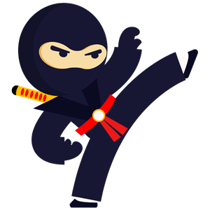 Free ninja clipart black and white library Fighting Ninja clipart, cliparts of Fighting Ninja free download ... black and white library