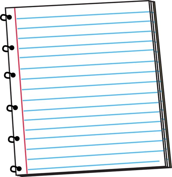 Blank open spiral note book clipart free png freeuse library Notebook Paper Clipart | Free download best Notebook Paper Clipart ... png freeuse library