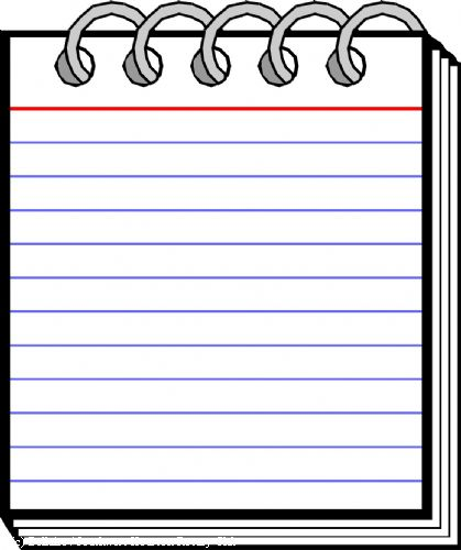 Notepads clipart clip black and white Free Notepad Cliparts, Download Free Clip Art, Free Clip Art on ... clip black and white
