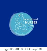 Free nurses day clipart png transparent library Nurses Day Clip Art - Royalty Free - GoGraph png transparent library