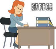 Free office clipart clip art black and white stock Free Office Cliparts Collection, Download Free Clip Art, Free Clip ... clip art black and white stock