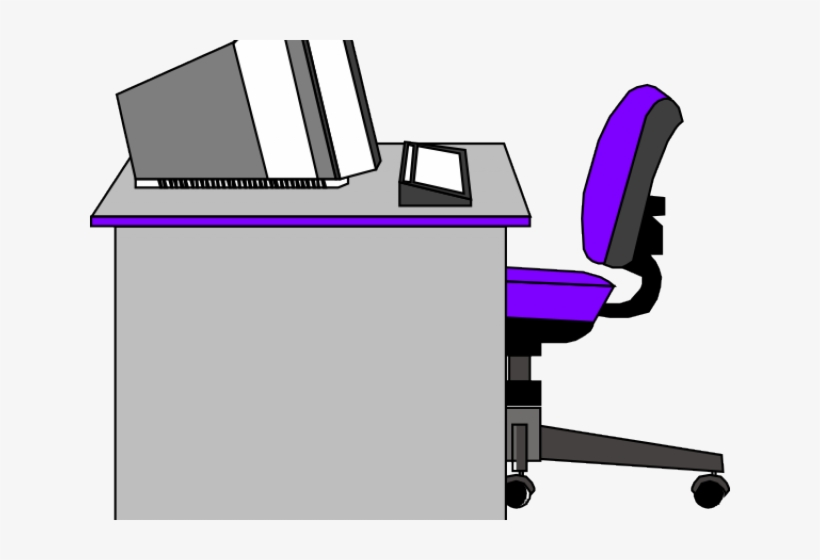 And computer clip art. Free office desk clipart
