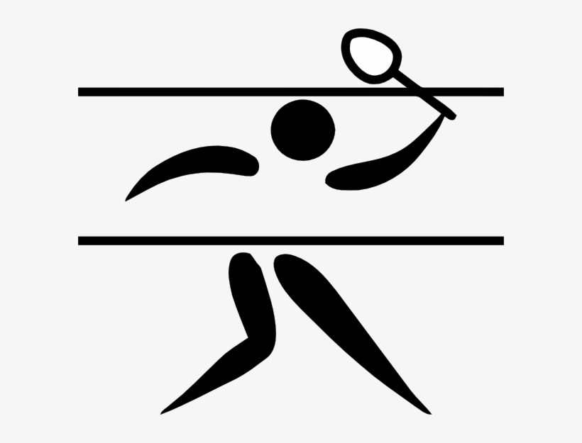 Free olympic games clipart jpg library download Olympic Games Clipart Sport Logo - Badminton Olympic Pictogram ... jpg library download