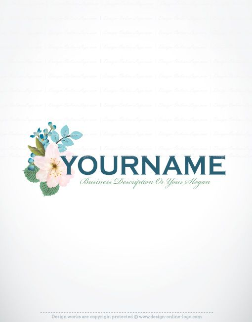Free online flowers pictures clip art Exclusive Design: Buy flowers bouquet logo FREE Business Card. Pre ... clip art