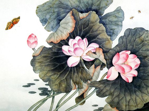 Free online pictures of flowers banner library stock free online pictures 03282 lotus leaves lotus flowers pictures ... banner library stock