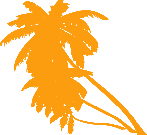 Orange tree clipart image royalty free Palm Tree Clip Art at Clker.com - vector clip art online, royalty ... image royalty free