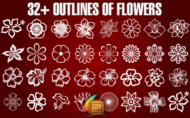 Free outline pictures of flowers vector royalty free download Flower outline clipart 213481 - ClipartFest vector royalty free download