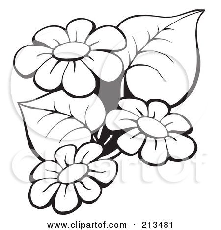 Free outline pictures of flowers clip library Flower Clip Art Outline | Clipart Panda - Free Clipart Images clip library