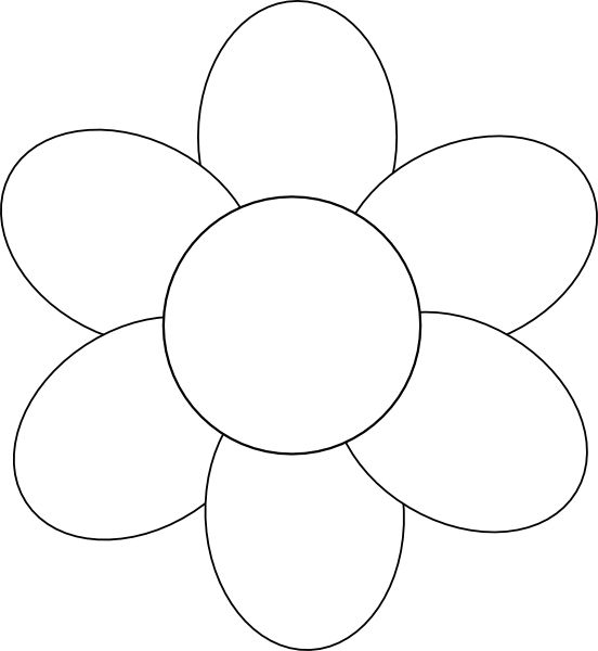 Free outline pictures of flowers svg free 17 Best ideas about Flower Outline on Pinterest | Flower outline ... svg free