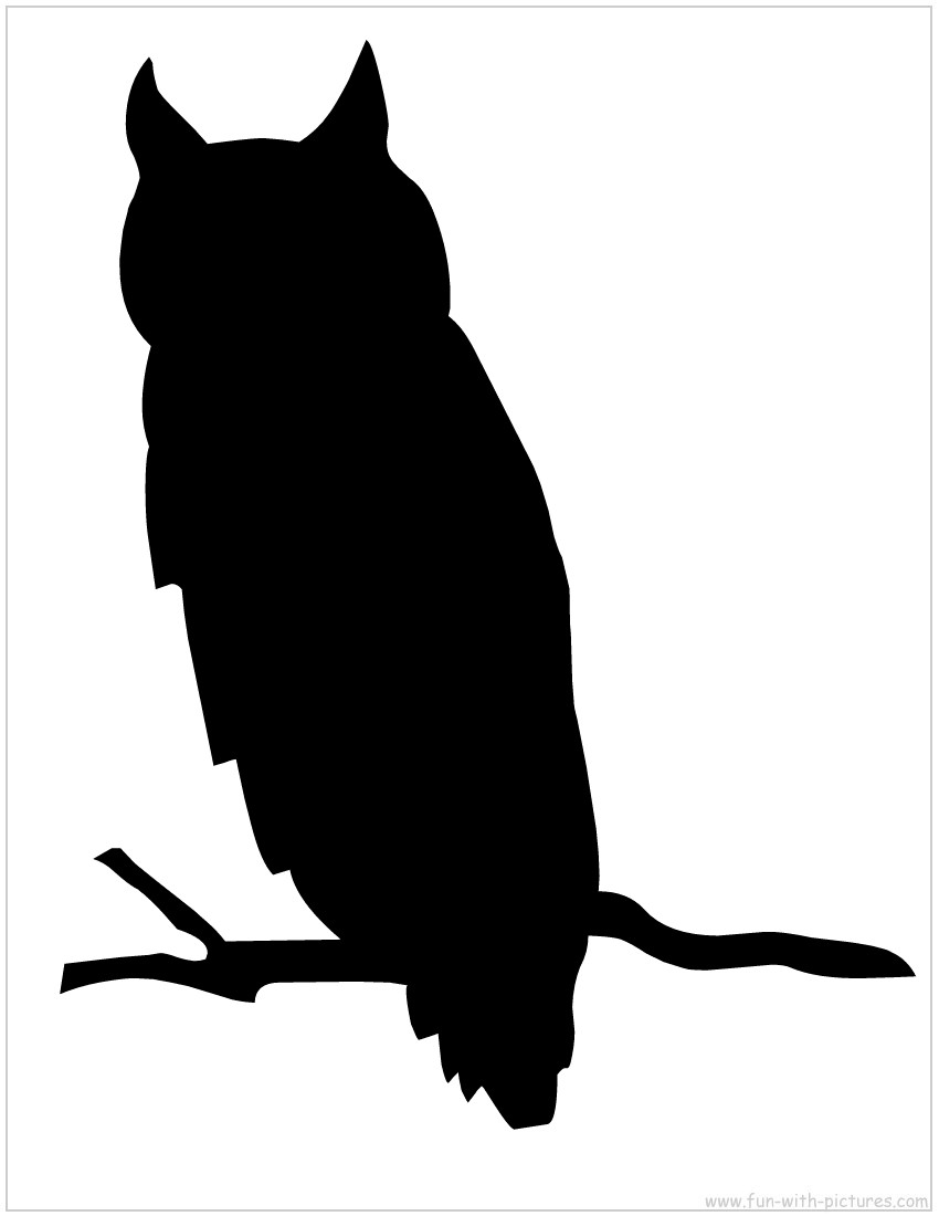 Free owl silhouette clipart vector freeuse library Free Owl Silhouette Cliparts, Download Free Clip Art, Free Clip Art ... vector freeuse library