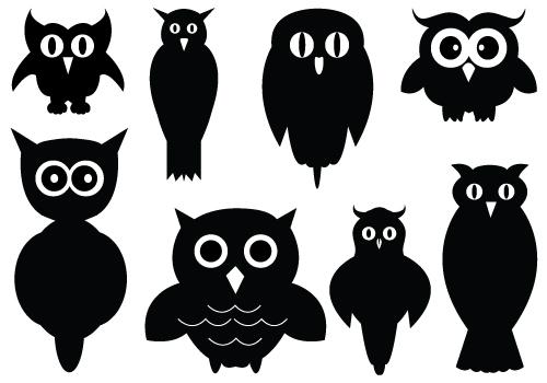 Free owl silhouette clipart svg transparent stock Free Owl Silhouette Cliparts, Download Free Clip Art, Free Clip Art ... svg transparent stock
