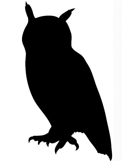 Free owl silhouette clipart banner transparent stock Flying Owl Silhouette | Clipart Panda - Free Clipart Images ... banner transparent stock