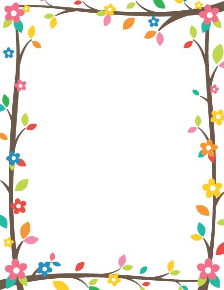 Free page border clipart svg transparent download Tree Branch Border: Clip Art, Page Border, and Vector Graphics svg transparent download