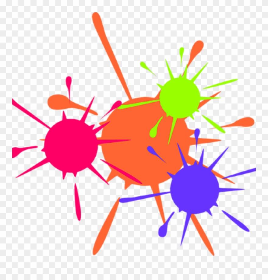 . Free paint splatter clipart