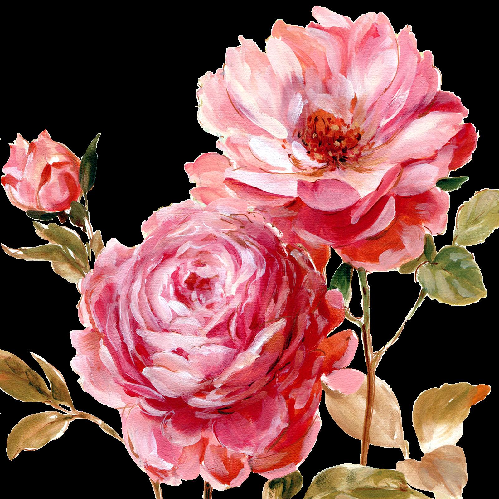 Free painted elegant flower clipart graphic freeuse download Çiçekler PNG Clipart_Lisa Audit_(69 Adet) | Dekupaj Desenleri ... graphic freeuse download